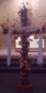 Flowering of the Cross at Grace 2013
