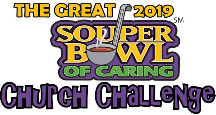 Image result for souper bowl sunday 2019, food collection